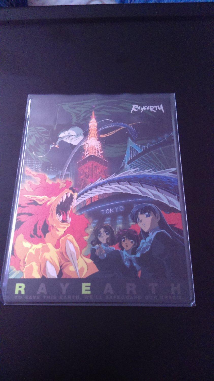 Rayearth OVA Collector Card SP 5/9 Border NM
