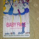Sailor Moon Textured Plastic Sticker Card D