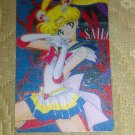 Sailor Moon Textured Plastic Sticker Card E
