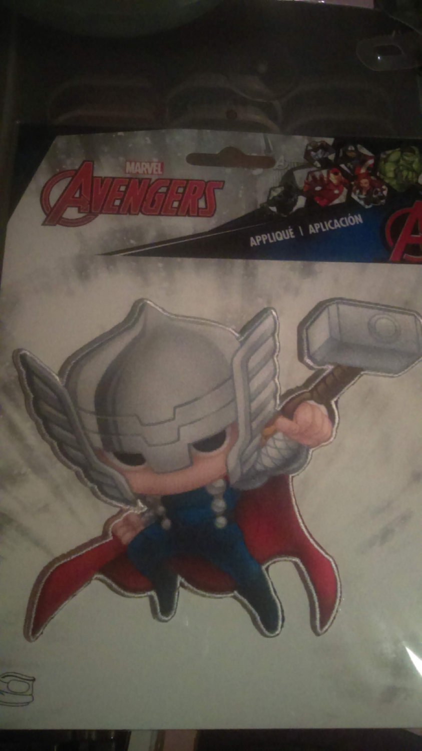 Marvel Avengers Thor Iron On Patch CUTE!!