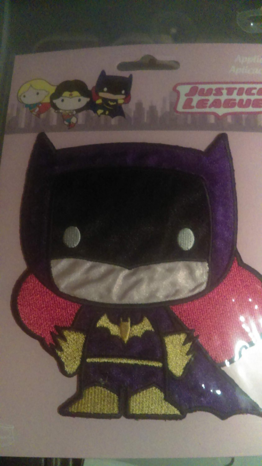 DC Justice League Batgirl Iron On Patch