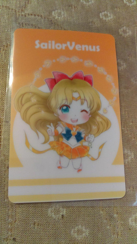 Sailor Moon Glossy Plastic Sticker Card B