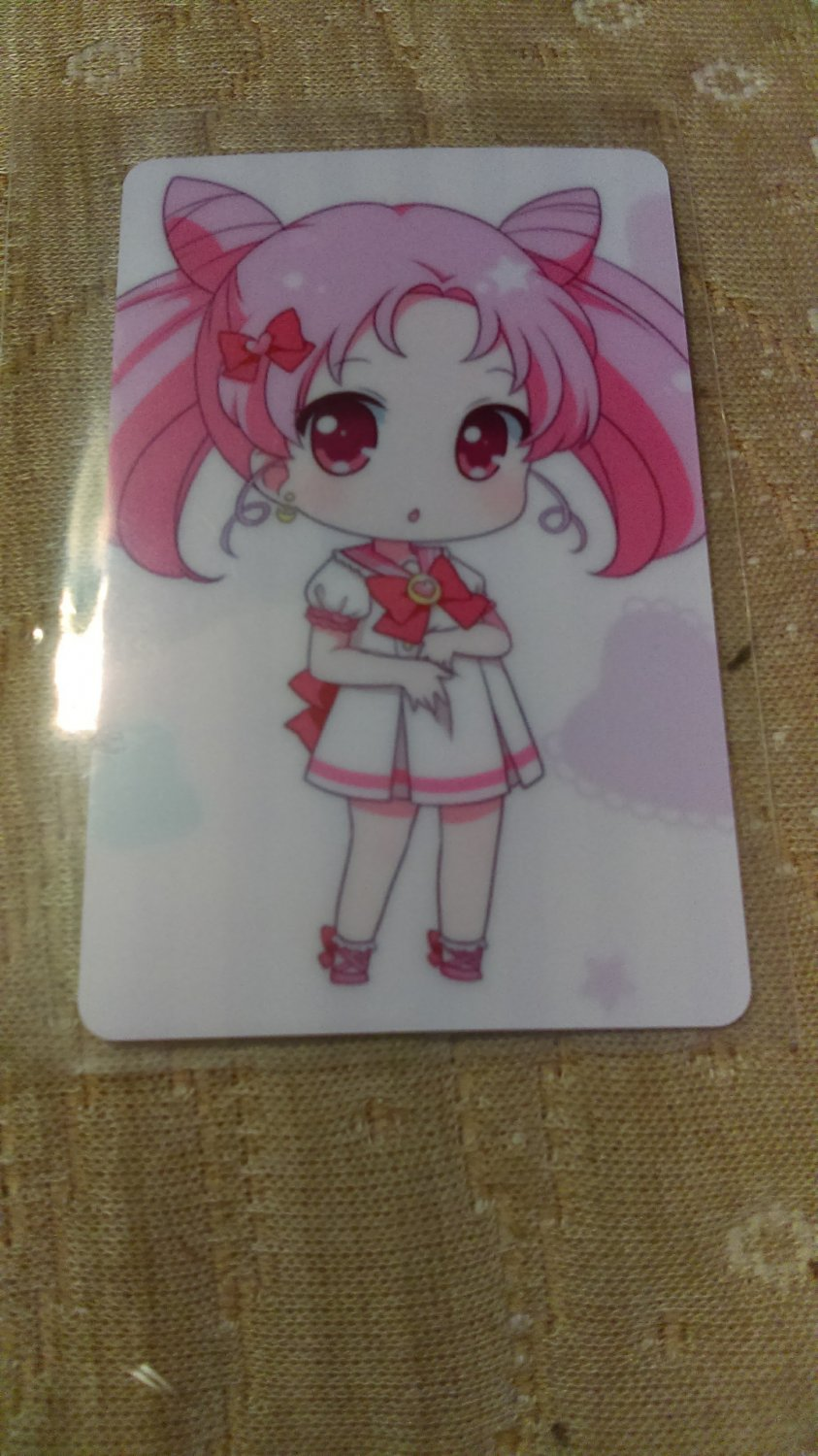 Sailor Moon Glossy Plastic Sticker Card I