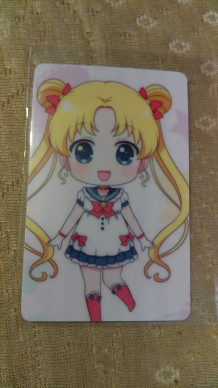 Sailor Moon Glossy Plastic Sticker Card J