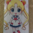 Sailor Moon Glossy Plastic Sticker Card J