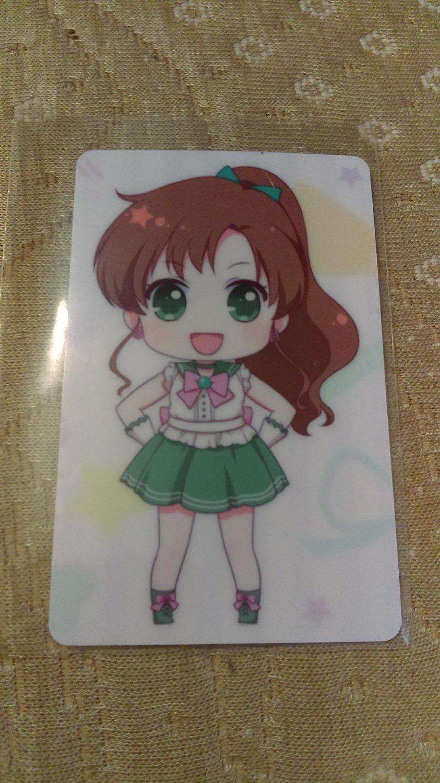 Sailor Moon Glossy Plastic Sticker Card M