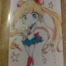 Sailor Moon Glossy Plastic Sticker Card O