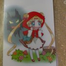Sailor Moon Glossy Plastic Sticker Card P