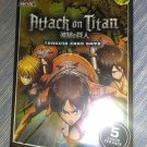 Attack On Titan TCG 5 Card Booster Pack Panini