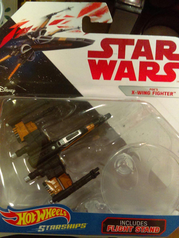 Star Wars Hotwheels Starships- Poe's X-Wing Fighter