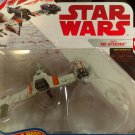 Star Wars Hotwheels Starships- Poe's Ski Speeder