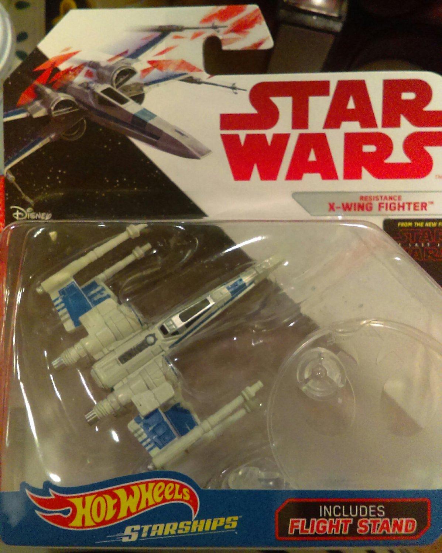Star Wars Hotwheels Starships- Resistance X-Wing Fighter