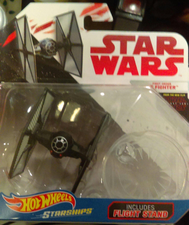 Star Wars Hotwheels Starships- First Order Tie Fighter