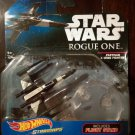 Star Wars Hotwheels Starships- Rogue One Partisan X-Wing Fighter