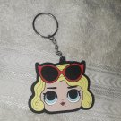 LOL Dolls Rubber/Silicone Keychain - Sunglasses