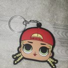 LOL Dolls Rubber/Silicone Keychain - Hat