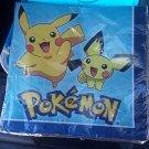 Pokemon Party Napkins New Sealed