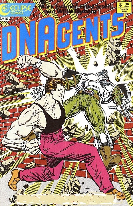 Eclipse DNAGENTS (1985 Series) #16 Fine Comics Book Comic