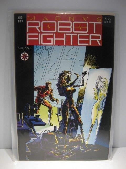 Magnvs Robot Fighter Aug #3 Valiant Comics Book Comic