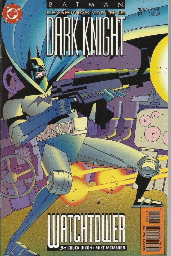 Legends Of The Dark KNIGHT (BATMAN) (1989 Series) #57 Near Mint Comics Book