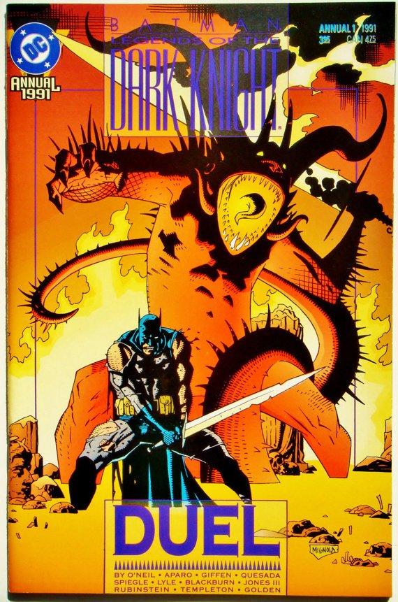 DC Legends Of The Dark Knight Annual (BATMAN) (1991 Series) #1 Near Mint Comics