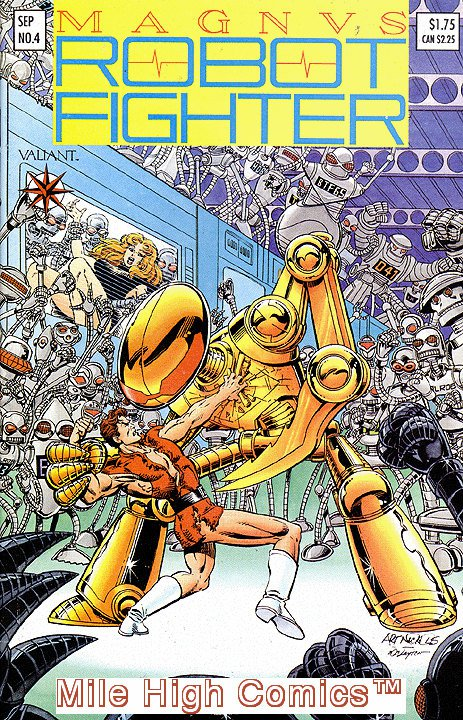 MAGNVS ROBOT FIGHTER (1991 Series) #4 Near Mint Comics Book comic