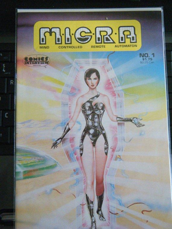 Micra Comics Interview no. 1 -(1986) #1 New Comic Book