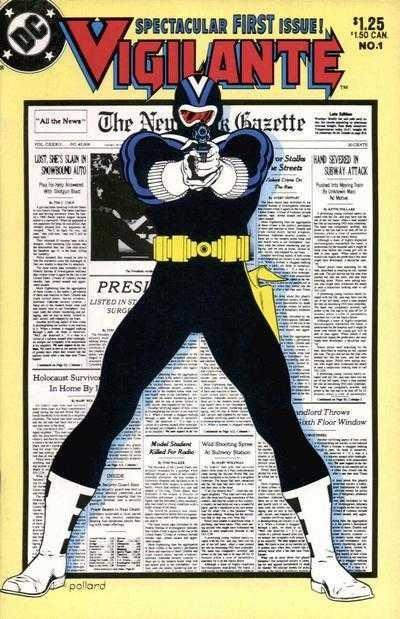 DC Vigilant Spectacular First Issue Comic Book No.1 Pollard 1983
