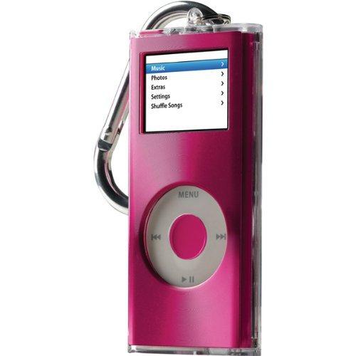 Belkin Acrylic Case for iPod nano 2G (Pink/Metal) New Remix Metal