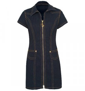 Baby Phat - DENIM TUBE DRESS