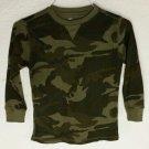 Kids Camouflage long sleeve shirt