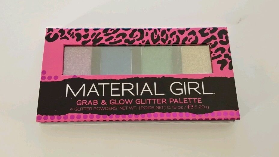 Material Girl Grab and Glow Glitter Palette Powders