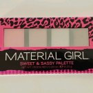 Material Girl SWEET & SASSY PALETTE eye shadow/powders