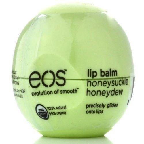 eos Smooth Lip Balm Sphere, Honeysuckle Honeydew 0.25 o