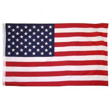 90X150CM SUPER POLYESTER USA FLAG INDOOR OUTDOOR Sku : 7184