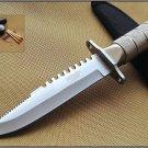 """8""""  SURVIVAL KNIFE WITH SHEATH Sku : 5220"""