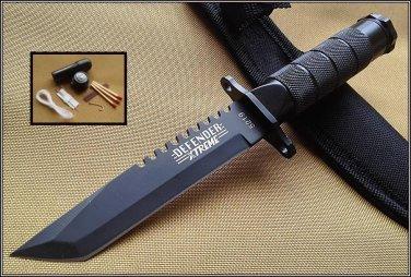 """8.5"""" Stainless STEEL SURVIVAL KNIFE  Sku : 5219"""