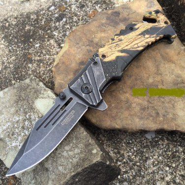 """8"""" Defender Xtreme  Knife with Glass breaker and Seat belt Cutter  SKU:9290"""
