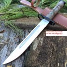 "13.5"" Desert camo Bayonet Hunting Knife with Sheath SKU:9296"