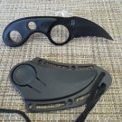 Dark Defender Karambit  Knife with Sheath  Sku : 1794