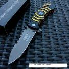 """8"""" Defender Xtreme Knife with Belt Clip - Orange SKU:7636"""
