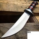 "10"" DEFENDER EXTREME HUNTING KNIFE STAINLESS STEEL BLADE WITH WOOD HANDLE Sku : 8152"