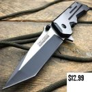 8-034-TAC-FORCE TACTICAL-TANTO-Folding-Blade-Pocket-Knife- Blade Addict