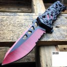 "8.5"" Razor Skull Tactical Spring Assisted Open Folding Pocket"