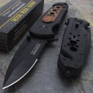 """8"""" WOOD TAC FORCE SPRING ASSISTED TACTICAL FOLDING KNIFE"""