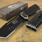 "9.25"" Mtech Spring Assisted Open Skull Tanto Pocket Knife Folding Tactical Blade"