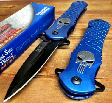 """Dark Side Blades 4.5"""" Closed Tactical Pocket Knife S/A Code-PSMITH"""