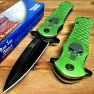 "8.5"" PUNISHER Green S/A blade Code-PSMITH"