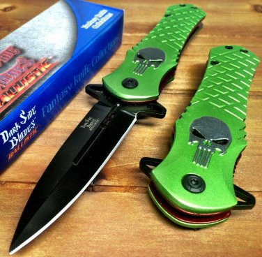 """8.5"""" PUNISHER Green S/A blade Code-PSMITH"""