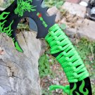 "Zomb-War 11"" Green Dragon Axe Code-Helen Mckinzie"
